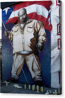 Big Pun Canvas Print by RicardMN Photography