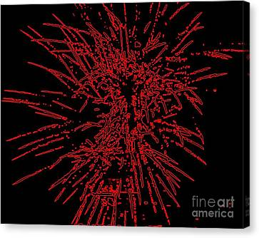 Big Red Canvas Print by Shelia Kempf