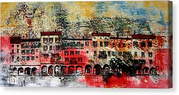 Big Red Canvas Print by William Renzulli
