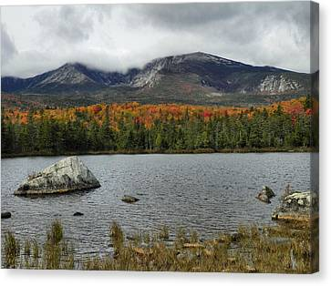 Canvas Print featuring the photograph Big Rock by Gene Cyr