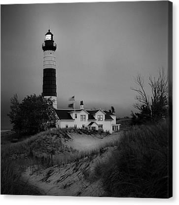 Big Sable Point Light Canvas Print by Jeff Burton