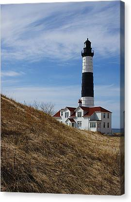 Canvas Print featuring the photograph Big Sable by Randy Pollard