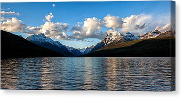 Canvas Print featuring the photograph Big Sky by Aaron Aldrich
