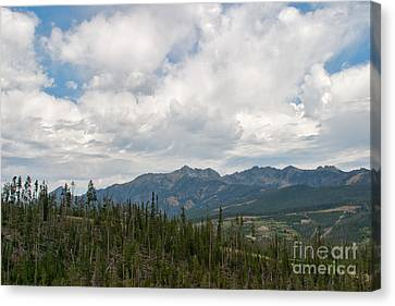 Big Sky Cloudscape Canvas Print by Charles Kozierok