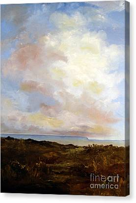 Cliff Lee Canvas Print - Big Sky Country by Lee Piper