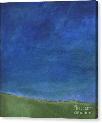 Big Sky Canvas Print by Linda Woods