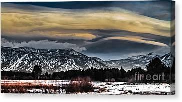 Big Sky Canvas Print by Mitch Shindelbower