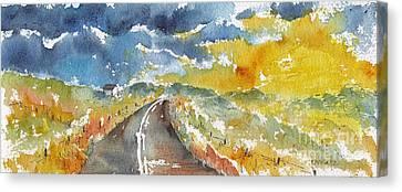 Big Sky - Open Road Canvas Print