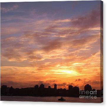 Big Sky Over Halifax Harbour Canvas Print by John Malone