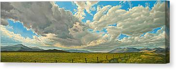 Big Sky Canvas Print by Paul Krapf