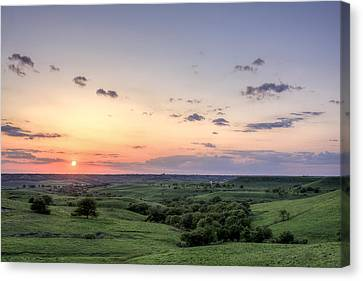 Canvas Print featuring the photograph Big Sky by Scott Bean