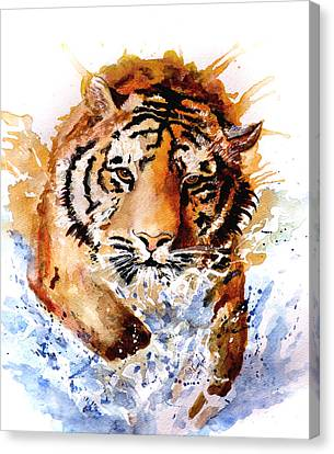 Big Splash Canvas Print