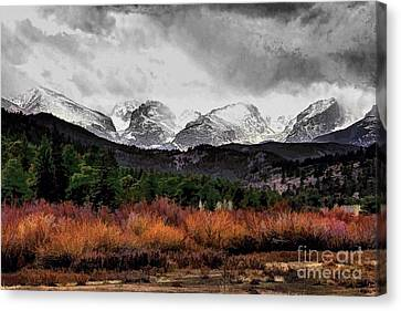 Big Storm Canvas Print by Jon Burch Photography