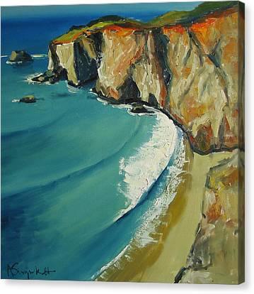 Big Sur Canvas Print by Alexei Biryukoff