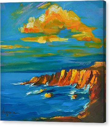 Big Sur At The West Coast Of California Canvas Print by Patricia Awapara