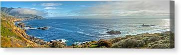 Big Sur Coast Pano 2 Canvas Print