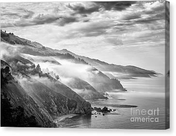 Big Sur California Canvas Print - Big Sur by Jennifer Magallon