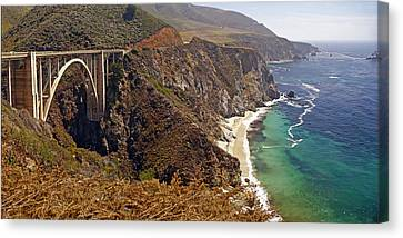 Canvas Print featuring the photograph Big Sur by Rod Jones