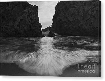 Big Sur Seascape Canvas Print by Keith Kapple
