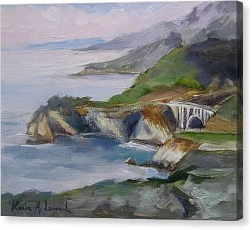 Big Sur Sunset Canvas Print