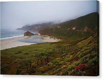 Canvas Print featuring the photograph Big Sur by Tom Kelly