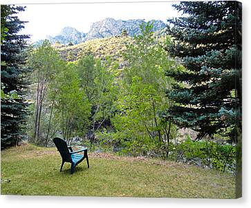 Big Thompson Canyon Pre Flood Moment 1 Canvas Print by Robert Meyers-Lussier