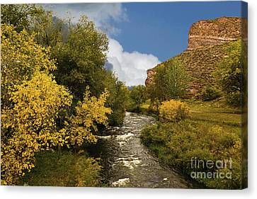 Big Thompson River 2 Canvas Print by Jon Burch Photography