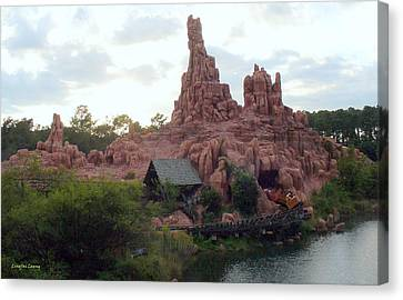 Big Thunder Mountain Canvas Print by Lingfai Leung