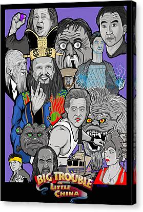 Big Trouble Canvas Print by Gary Niles