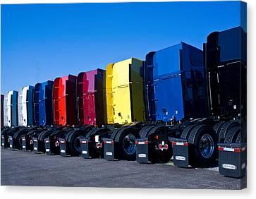 Big Trucks 2 Canvas Print by Douglas Barnett