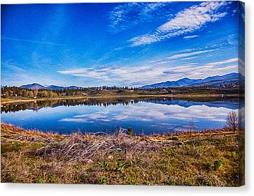 Big Twin Lake Canvas Print