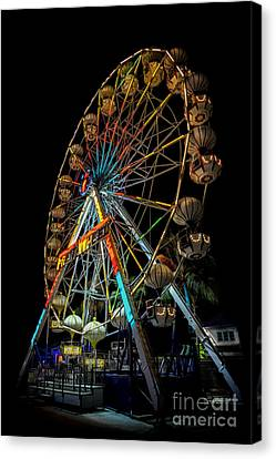 Big Wheel Canvas Print by Adrian Evans