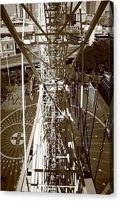 Darling Harbour Big Wheel.  Canvas Print