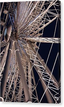 Big Wheel Canvas Print by John Schneider