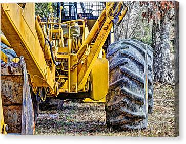 Big Yellow Canvas Print by JC Findley
