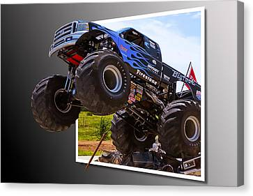 Bigfoot Out Of Frame Canvas Print by Doug Long