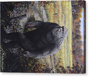 Bigfoot Wooly Booger Canvas Print