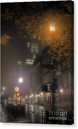 Canvas Print featuring the photograph Bigga Mist by Robert McCubbin
