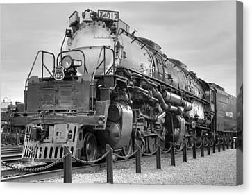Biggest Badest Steam Locomotive Ever Canvas Print by Gene Walls