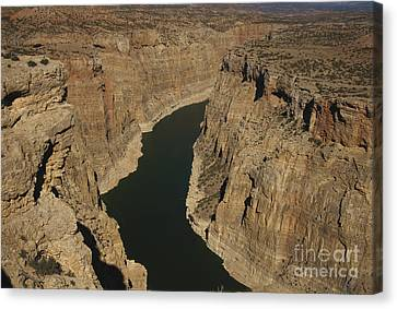 Bighorn Canyon National Recreation Area Canvas Print - Bighorn Canyon by Mark Newman