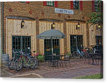 Bike Shop Cafe Katty Trail St Charles Mo Dsc00860 Canvas Print