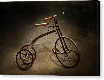 Bike - The Tricycle  Canvas Print by Mike Savad