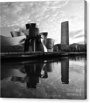 Canvas Print featuring the photograph Bilbao 3 by Mariusz Czajkowski
