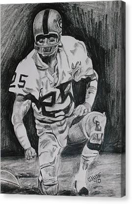 Biletnikoff Canvas Print by Jeremy Moore