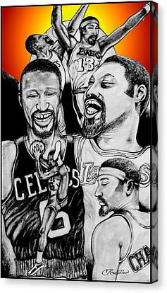 Bill And Wilt Canvas Print
