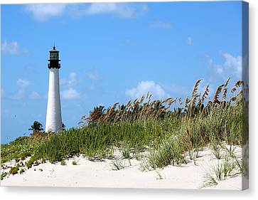 Bill Baggs Lighthouse Canvas Print