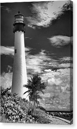 Bill Baggs Lighthouse Canvas Print by Rudy Umans