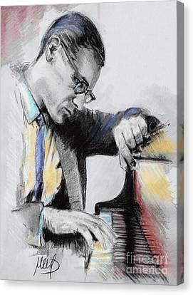 Evans Bill Canvas Print