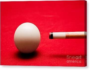 Billards Pool Game Canvas Print