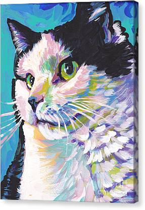 Billi Cat Baby Canvas Print by Lea S